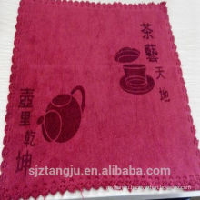 Best selling custom mat towel, custom tea towels, plain white cotton tea towel