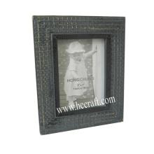 Cadre photo en bois Gesso / Compo pour décoration