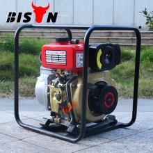 BISON CHINA Tragbare 1,5 Zoll kleinste 178F Diesel Wasserpumpe