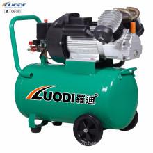 3HP 220V small portable direct driven piston electric air compressors for sale
