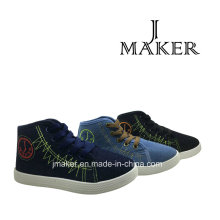 Manufacture Classic Blank Canvas Shoes for Children (JM2078-B)
