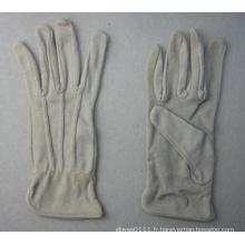 Gant de travail en coton gris