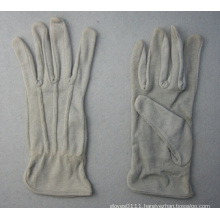 Grey Cotton Work Glove