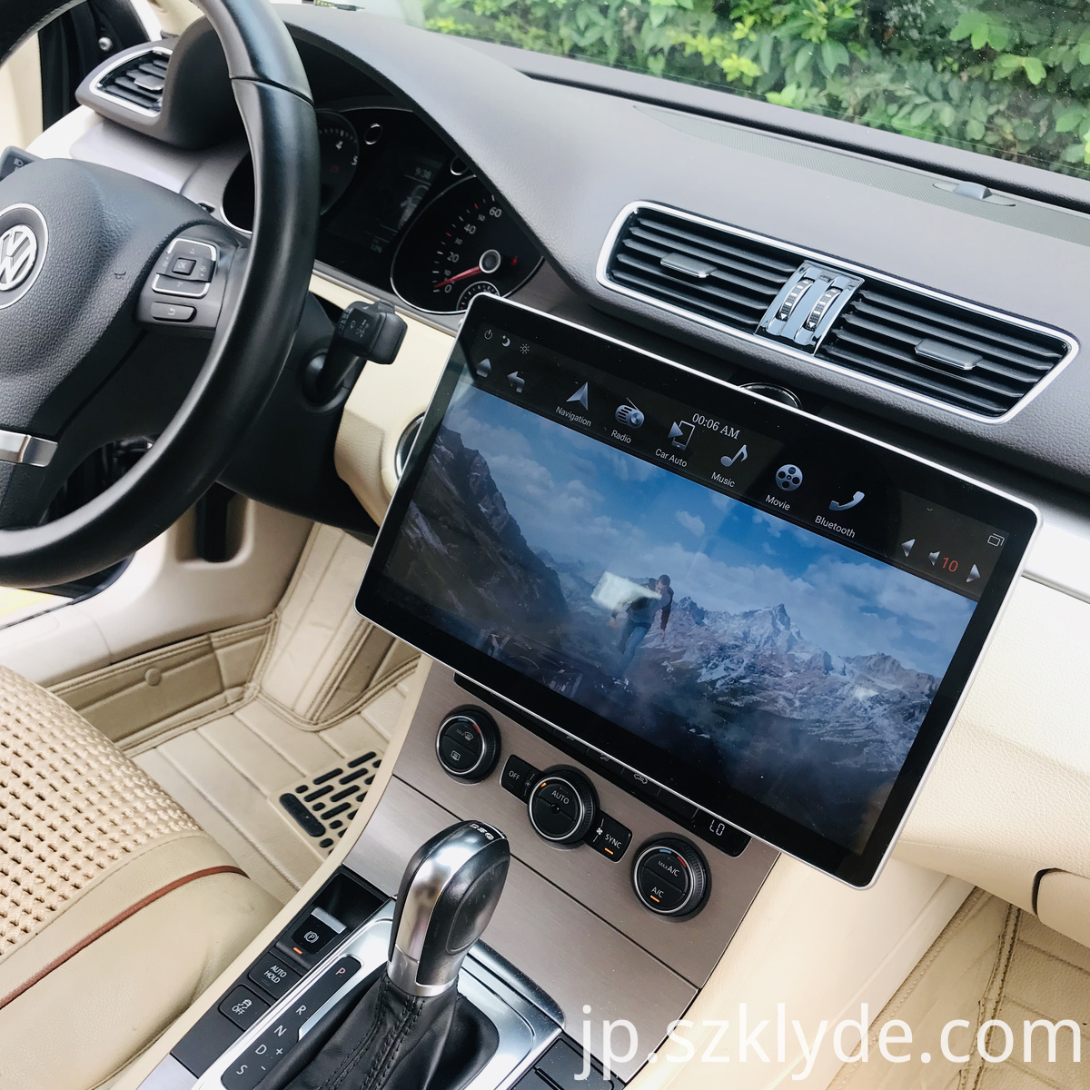 12.8 inch universal PX6 voice contorl Car video