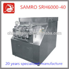 Stainless Steel SRH6000-40 types of homogenizers