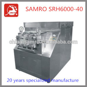 Stainless Steel SRH6000-40 small homogenizer