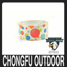 2015 colored circles print cute duct tape with quick ship