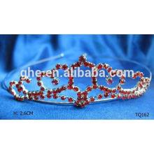 Nuevo rhinestone de la venta al por mayor de la manera que casa la falda nupcial de la princesa del traje de la princesa del desfile del baile de