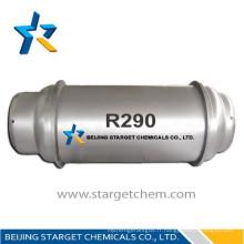Prix du gaz réfrigérant R290 de haute qualité