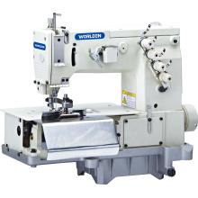 WD - 2000c doble aguja plana cama cintos con cortador de tela frontal (la anchura del lazo)