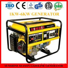 Generador de gasolina 5kw para uso doméstico con CE (SV10000)