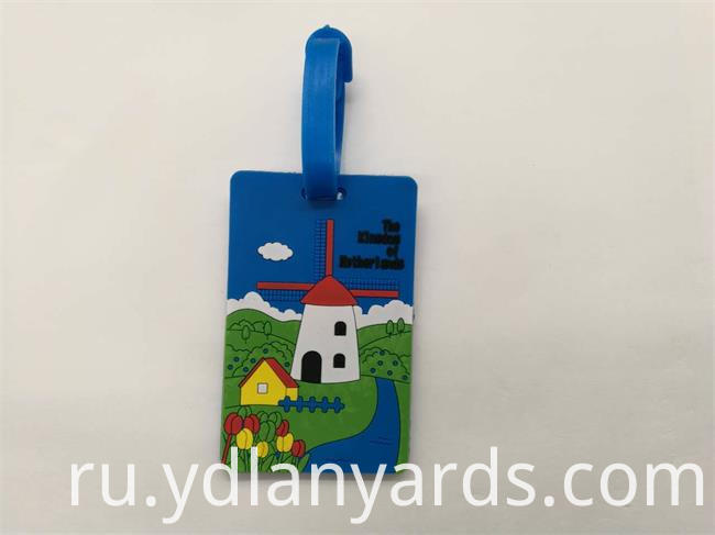 Beautiful Soft Pvc Luggage Tag