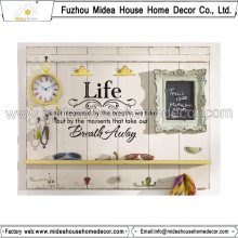 New Pattern Interior Home Decoration Wall Plaque with Hook