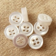 Pearl Ployester Button