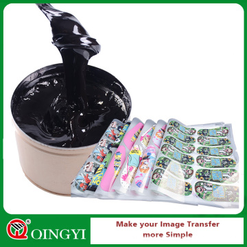 Encre noire de sublimation de décalage de colorant de Qingyi pour la machine d'impression offset