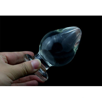 Sex Toys Crystal Glass Anal Plugs for Woman Ij_P10016