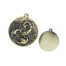 Metal Crafted Bronze Metal Medal