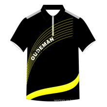 2017 último diseño polo camisa en blanco camiseta al por mayor venta caliente