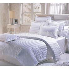"""200 tc atacado 110 """"extra grande 100% tecido de cetim de algodão para fazer lençóis de cama em rolo, tecido de cama de hotel"""