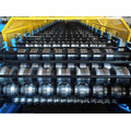 Roof Sheet Double Layer Cold Roll Forming Machine with PLC Panasonic