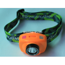 CREE Induction of Double Switch a Head Lamp, Double Sources LED Lights