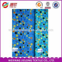 Tissu de bengaline de spandex de rayonne de nylon imprimé avec l'élastique pour des pantalons