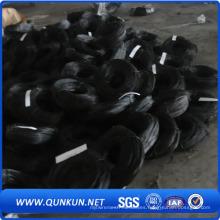 Alambre recocido negro del lazo del hierro de la torcedura en venta