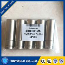 15AK binzel в ТБ цилиндрические сопла 145.0041