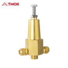 Válvula de alívio de pressão para aquecedores solares de água