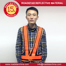 road safety mesh reflective vest