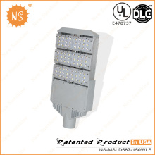 UL Dlc 110lm / W Outdoor 150W LED Street Pole Lichter
