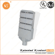 UL Dlc 110lm / W Outdoor 150W LED Street Pole Lights