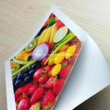 Высочайшее качество А4 300gsm Водонепроницаемый рулон для печати Высокоглянцевая фотобумага для струйной печати