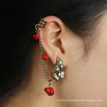 Girl's Ear Cuff Wholesale Rhinestone Ear Clip charm earring EC68
