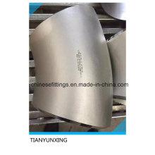 Accesorios de tubería de soldadura a tope sin soldadura Codo de acero inoxidable