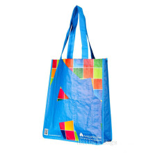 Portrait Laminated Woven PP Tote Bag (hbwo-55)