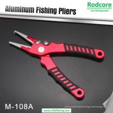 Pince à pêche en aluminium de haute qualité