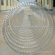 ТМС-65 горячая Окунутая Гальванизированная лезвие бритвы колючая проволока