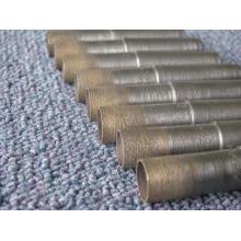 12 milímetros broca / diamante sinterizado & bronze/cone-haste da broca broca broca / broca para perfurar o vidro do diamante