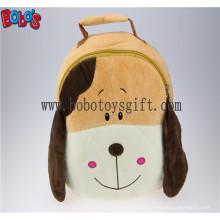 """11.8 """"Lovely Brown Dog Crianças Pelúcia Mochila Bos-1230 / 30cm"""