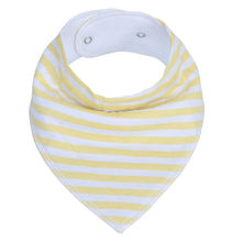 Organic Cotton+polar fleece  triangle neck scarf Baby bandana drool  Bibs