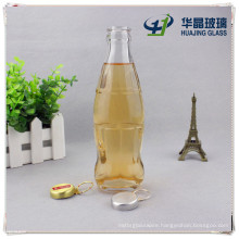 6oz 180ml Glass Beverage Bottle with Snap Lid