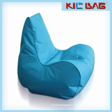 Outdoor waterproof bule bean bag chair for adults