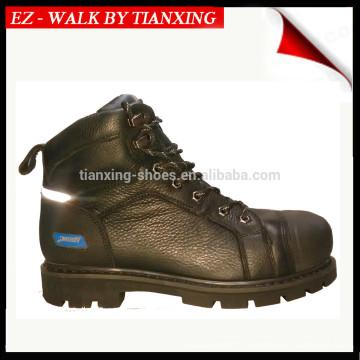 Хорошее качество безопасности обувь с натуральной кожи и стальным носком