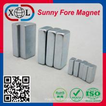 NbFeB neodymium permanent magnet block China factory