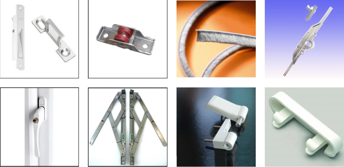 Hardwares For Pvc Windows