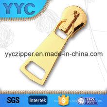 Yyc Heavy Duty Auto Lock Золотая металлическая молния Slider