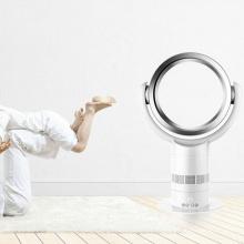 Ventilador eléctrico sin cuchillas, oscilante inteligente Liangshifu con control remoto