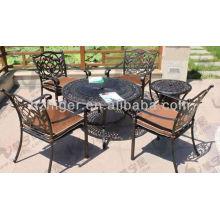 alumínio fundição de móveis de jardim, mobiliário de exterior