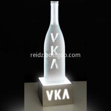 Illuminated led Bar Shelf bottle display rack